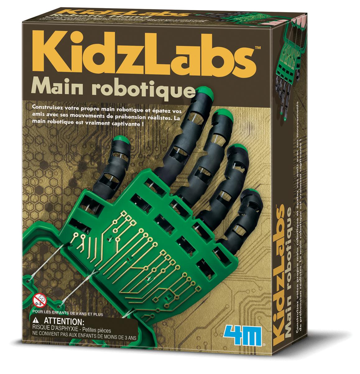 Main robotique - jeu scientifique Kidzlab
