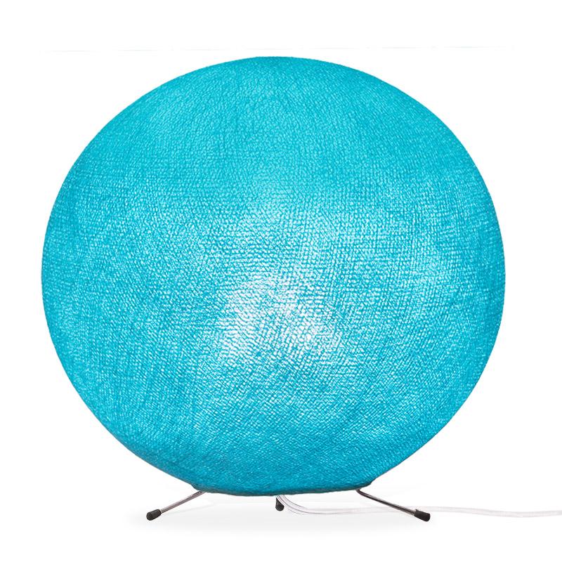 Lampe globe à poser en fibre Aqua XS