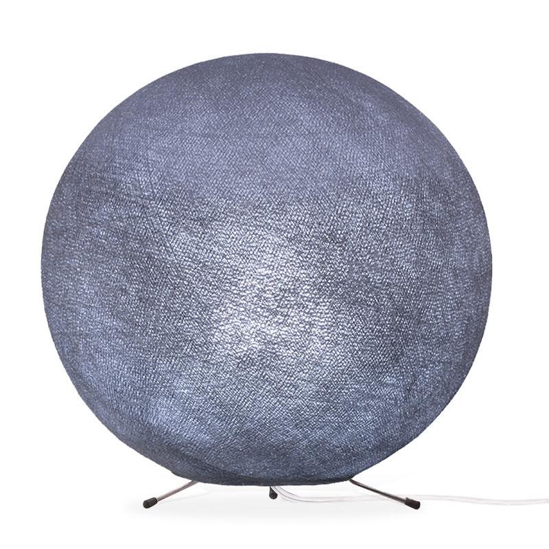 Lampe globe à poser en fibre Lilas XS