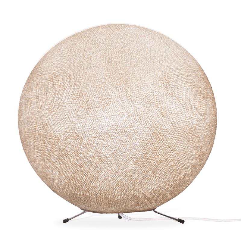 Lampe globe à poser en fibre Lin XS