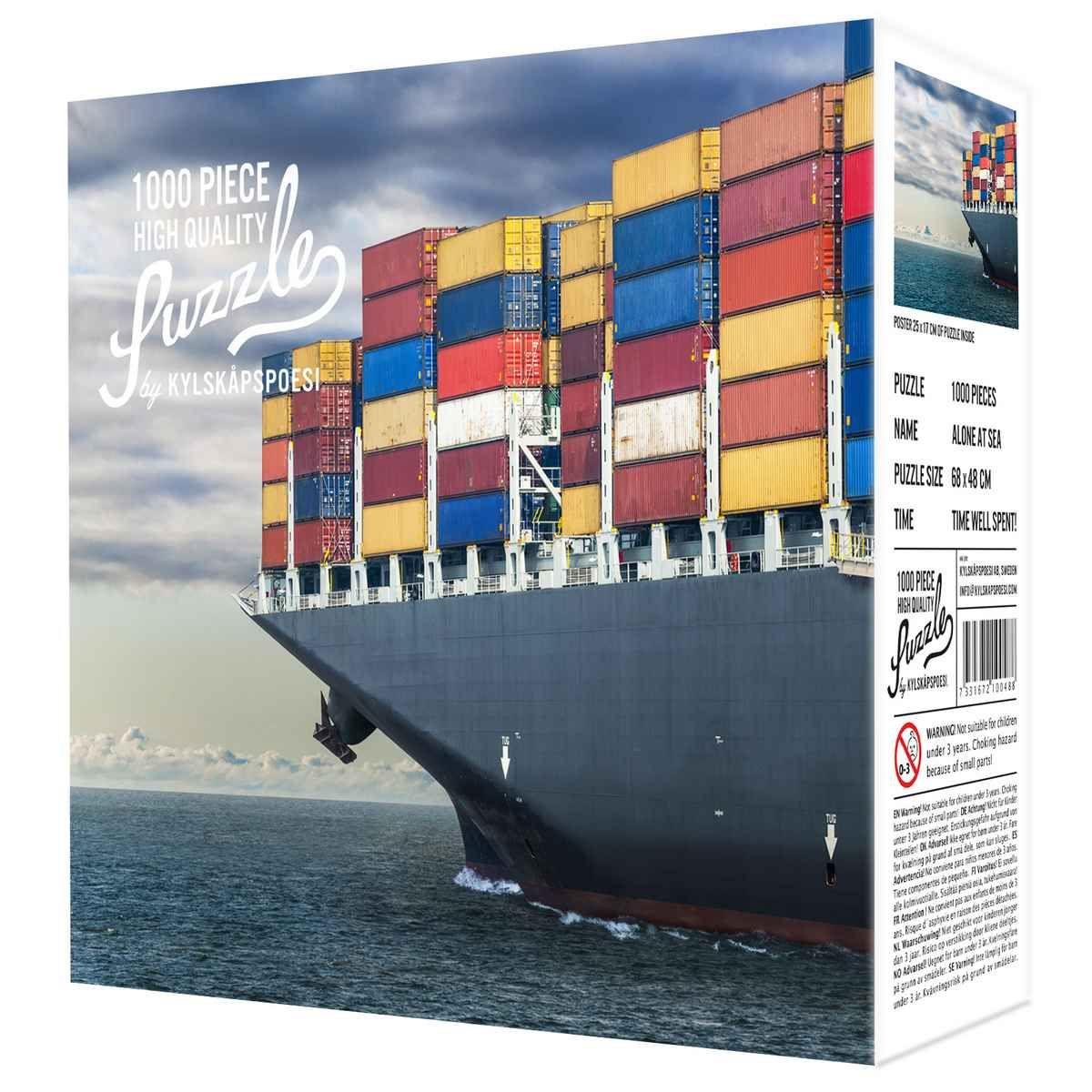 Puzzle 1000 pièces Alone at sea – Seul en mer