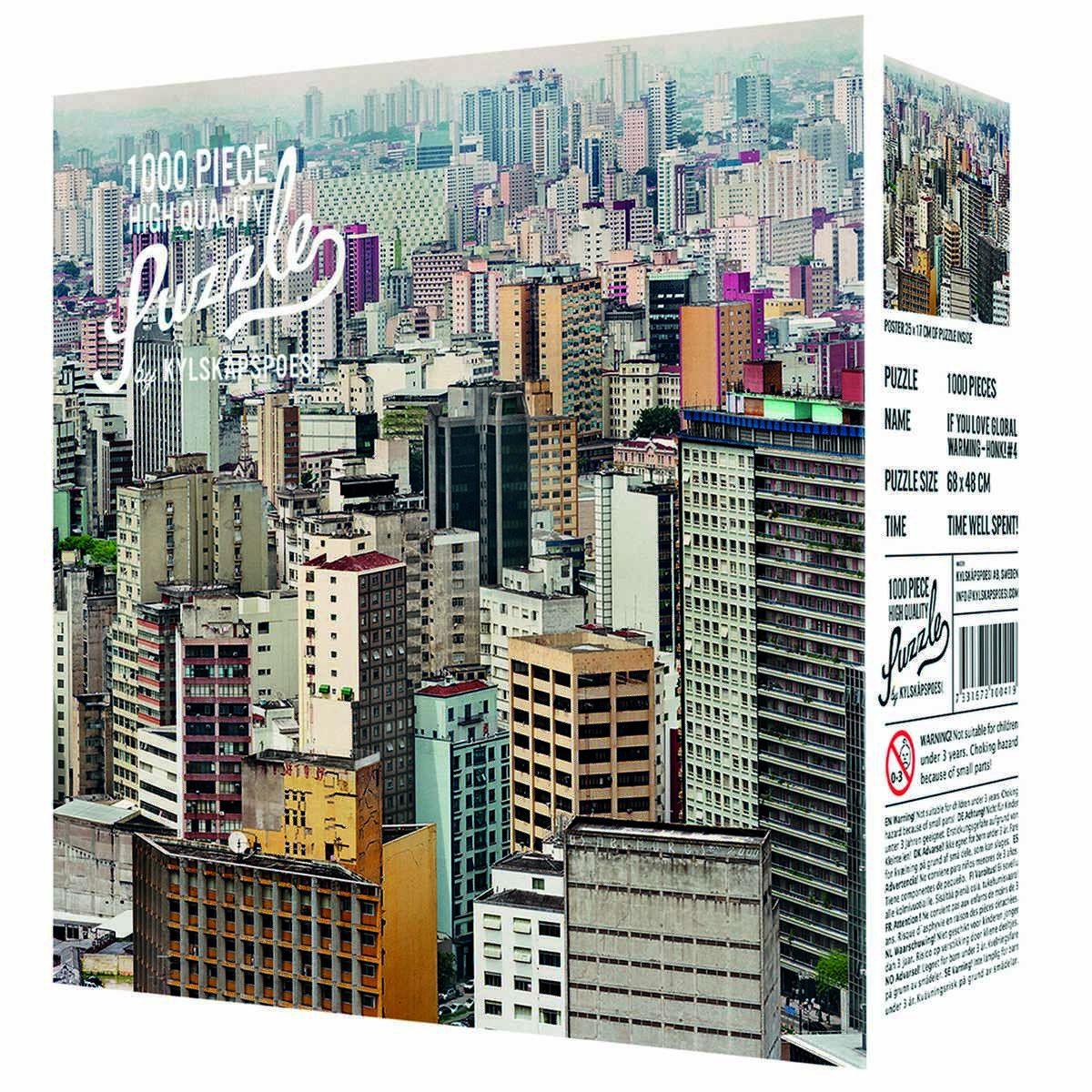 Puzzle 1000 pièces Sao Paulo by Jens Assur