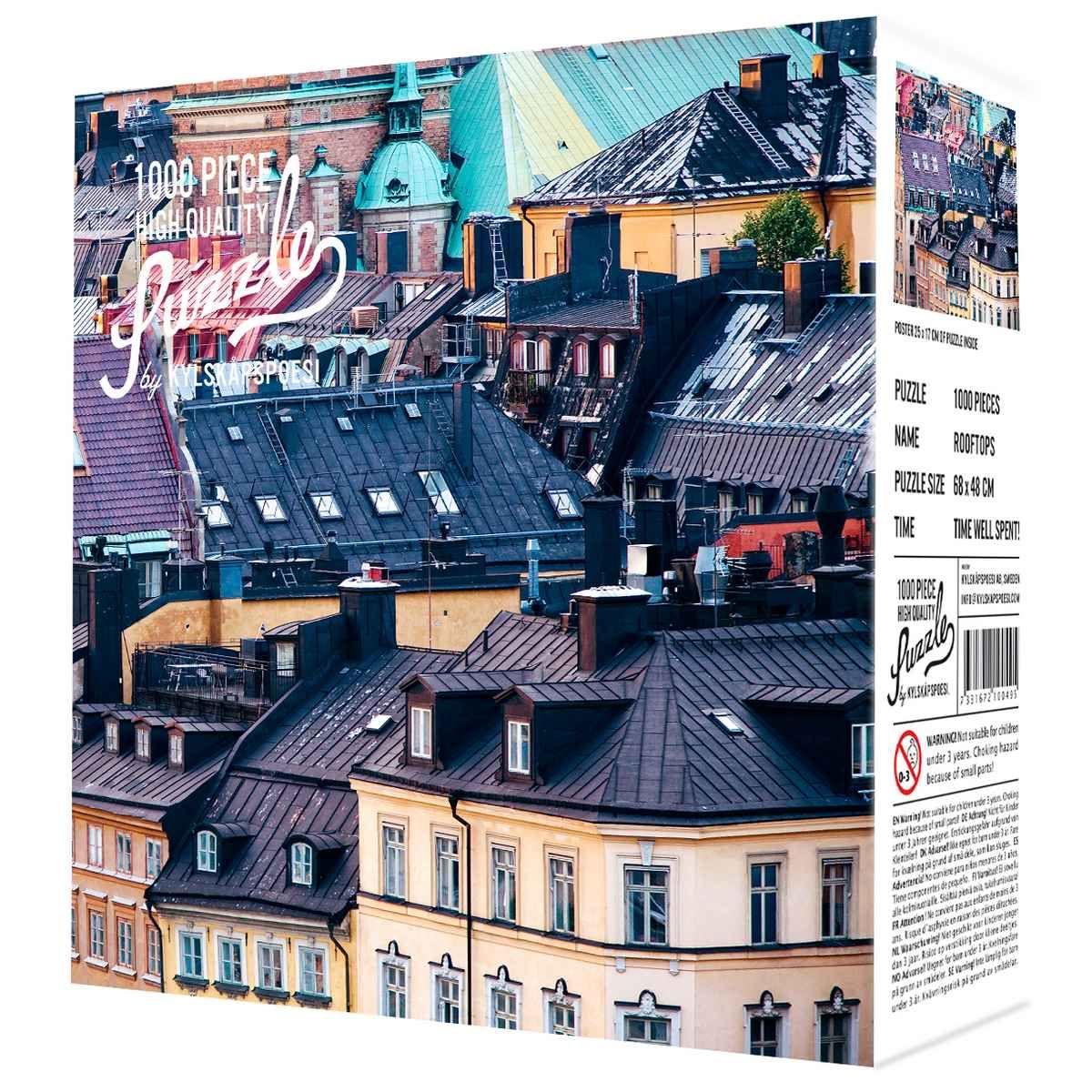 Puzzle 1000 pièces Rooftops – Toitures