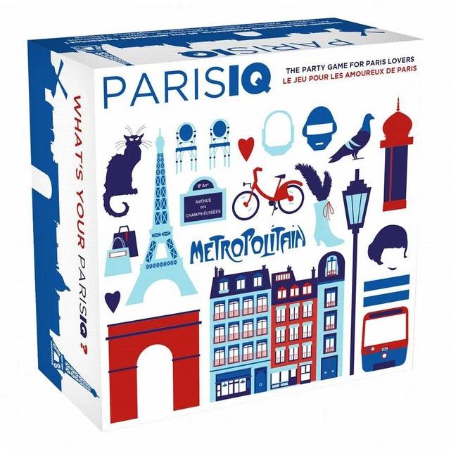 Jeu quiz ParisIQ pour amoureux de Paris