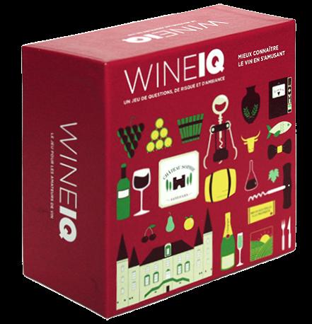 Jeu quiz WineIQ pour amateurs de vin