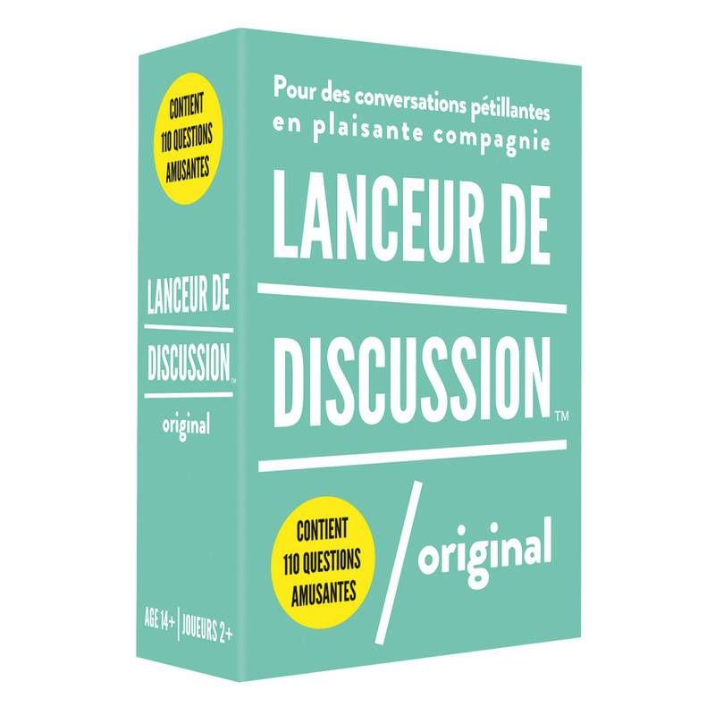 Lanceur de discussion Original