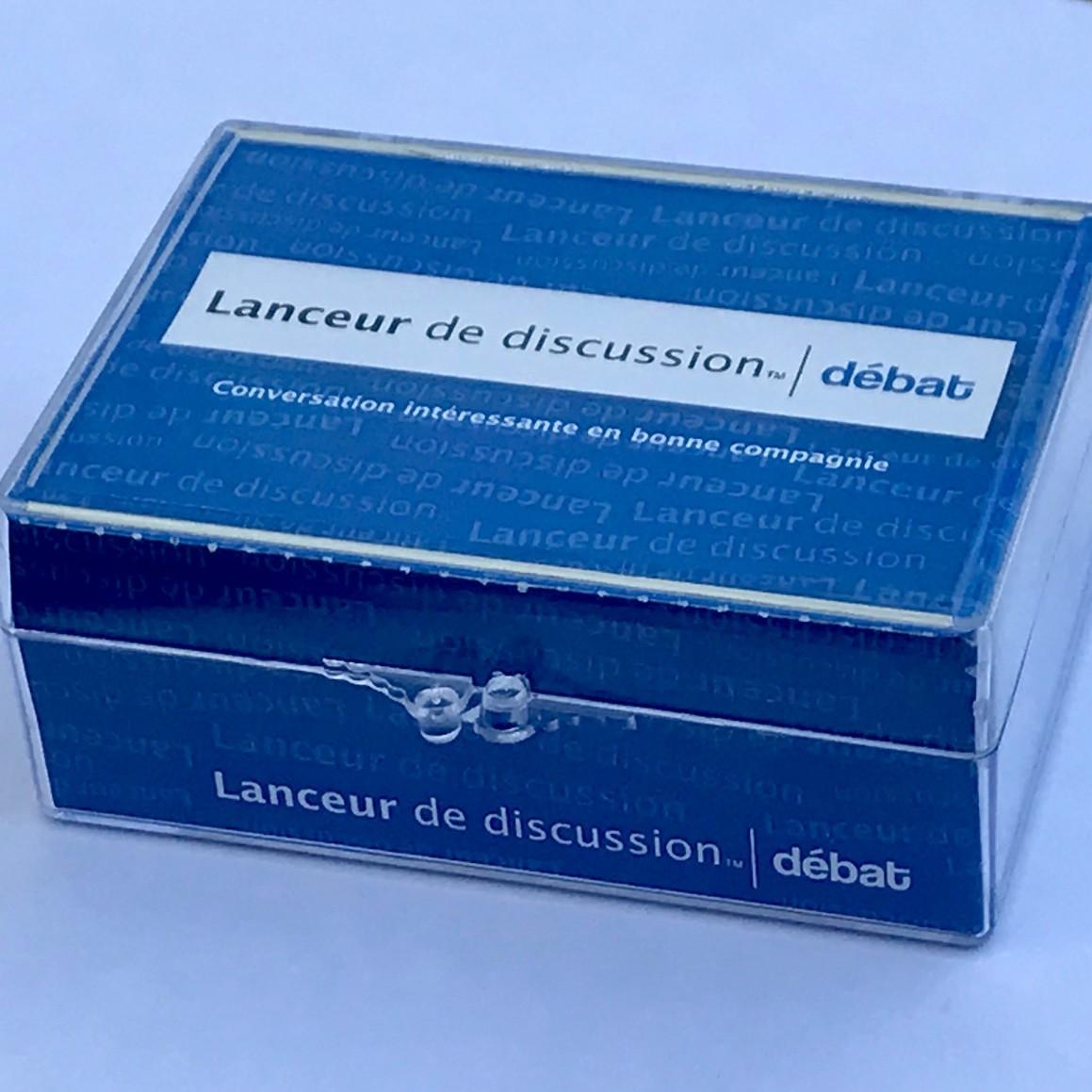 Lanceur de discussion Débat