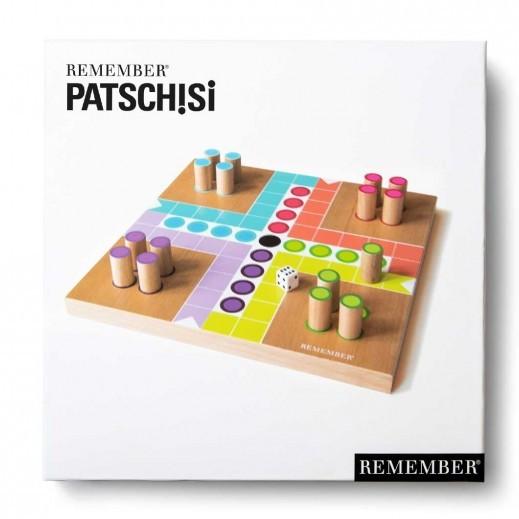 Patchisi : grand jeu de petits chevaux en bois