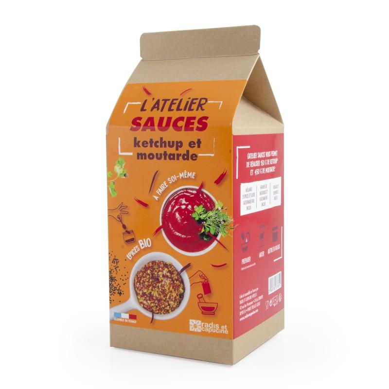 L'atelier Sauces ketchup et moutarde A faire soi-même DIY