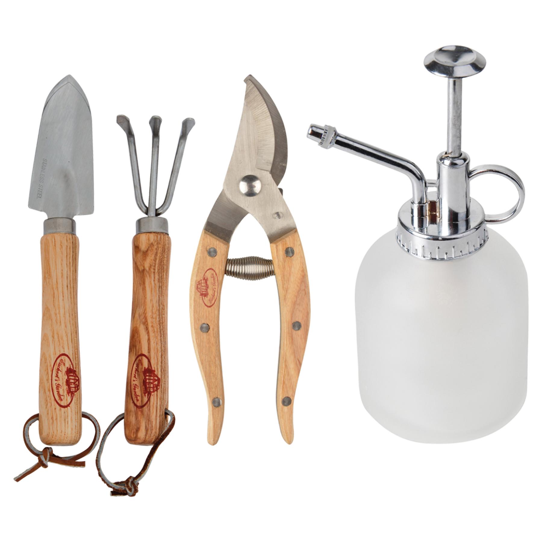 Set de 4 outils pour plantes d'appartement