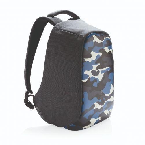 XD Design BOBBY COMPACT, sac à dos Antivol nomad (print camouflage bleu)