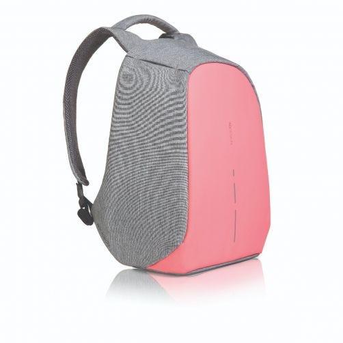 XD Design BOBBY COMPACT, sac à dos Antivol nomad (rose et gris)