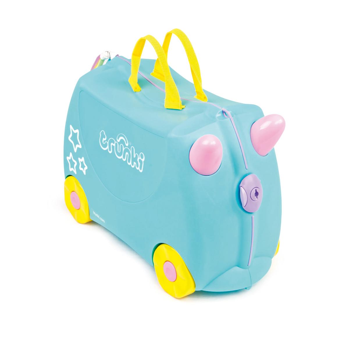 Una la licorne : la Valise Tout Terrain à roulette pour enfant (3 à 6 ans)