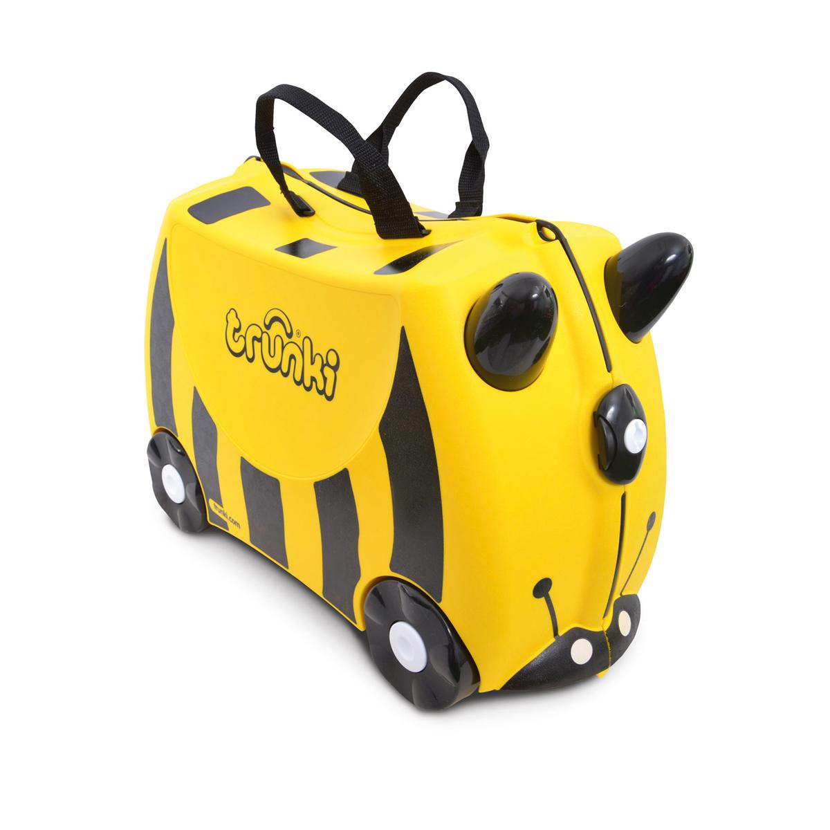 Bernard l'abeille : la Valise Tout Terrain à roulette pour enfant (3 à 6 ans)
