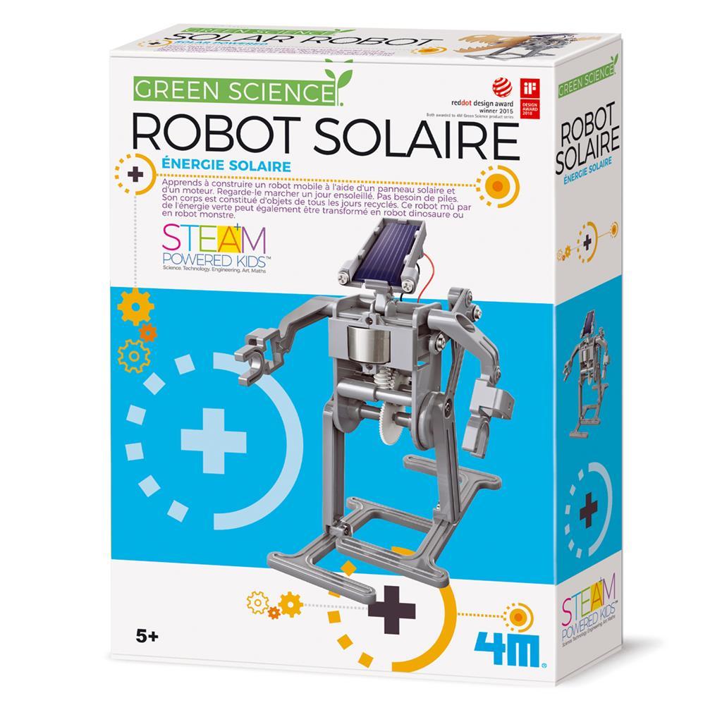 Robot solaire, jeu éducatif et scientifique