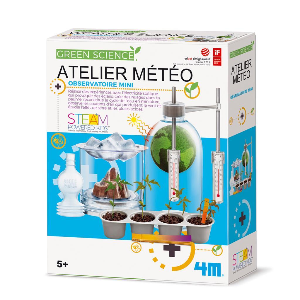 Atelier Météo, jeu éducatif et scientifique