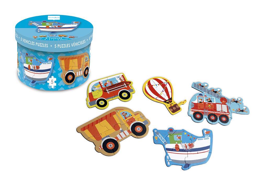 Mon premier puzzle : les véhicules, dès 2 ans