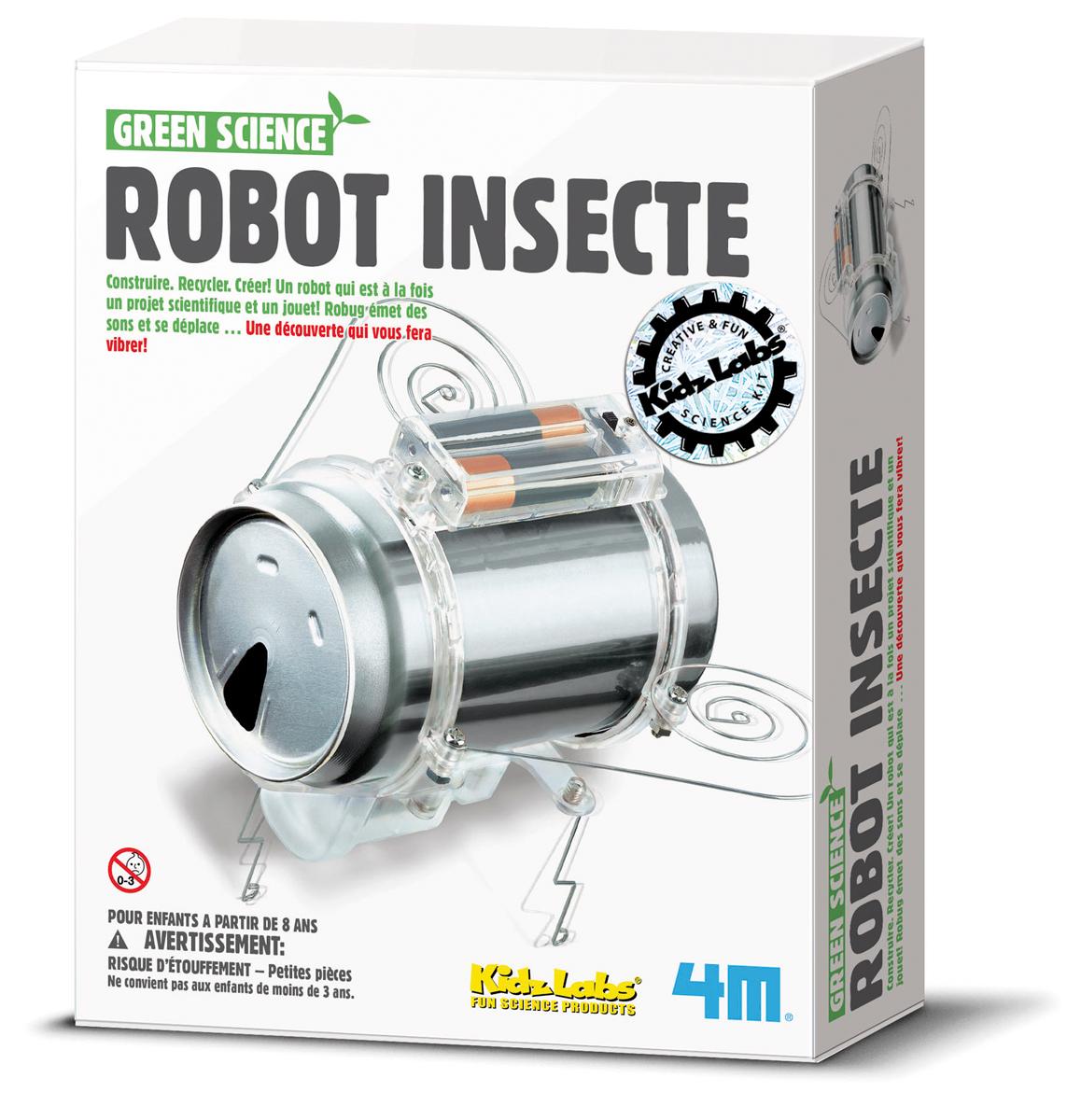 Robot insecte, jeu éducatif et scientifique