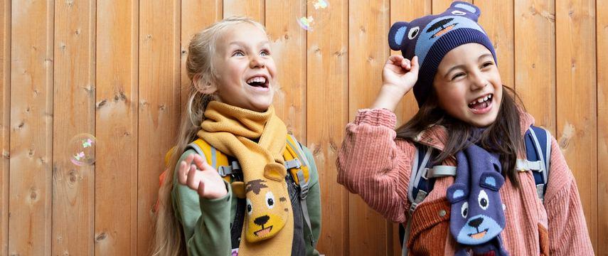 AFFENZAHN OURS BONNET ECHARPE ENFANT HIVER  cadeau idee cadeau enfant (1)