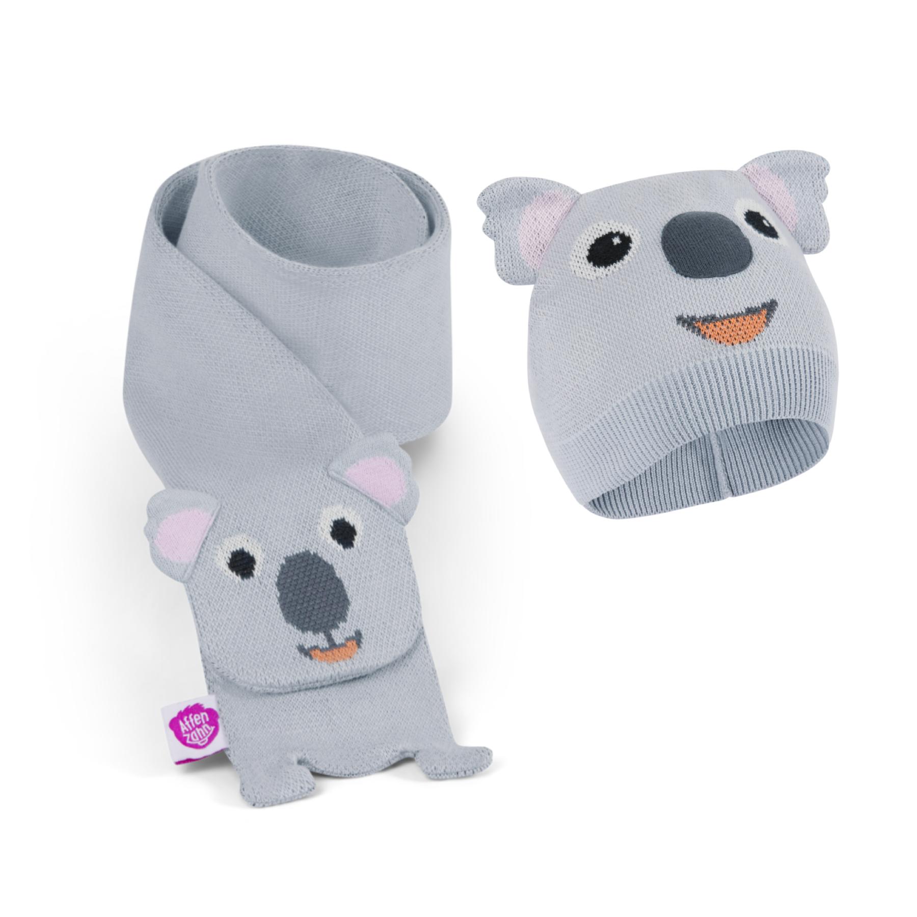 Set pour l'hiver écharpe et bonnet : Lucas le koala
