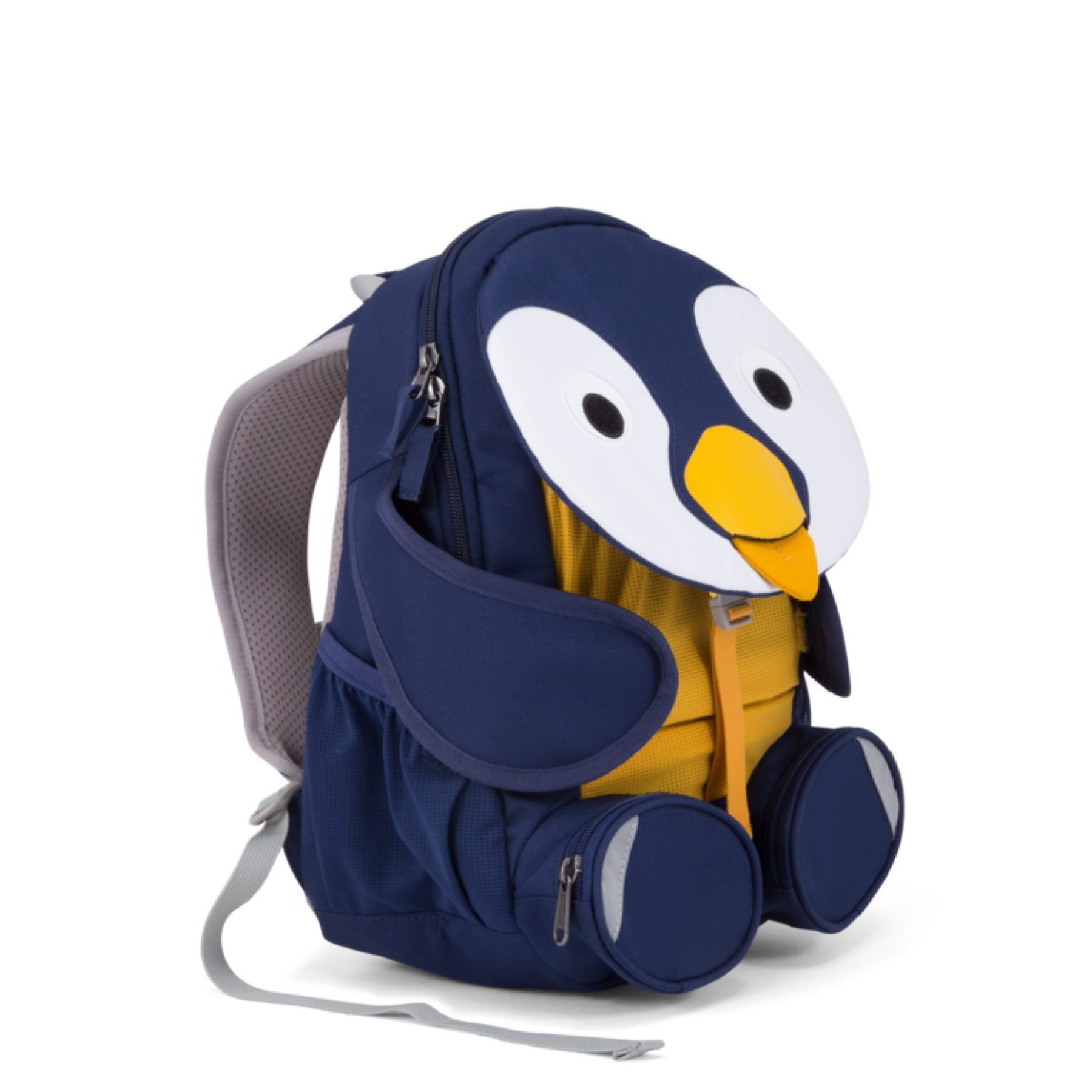 SAC A DOS ENFANT PINGUIN  CARTABLE AFFENZAHN ECOLO (1)
