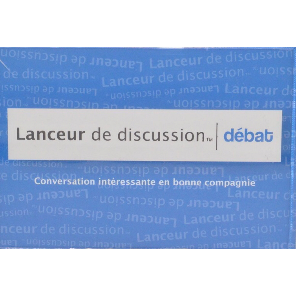 Lanceur de discussion Débat