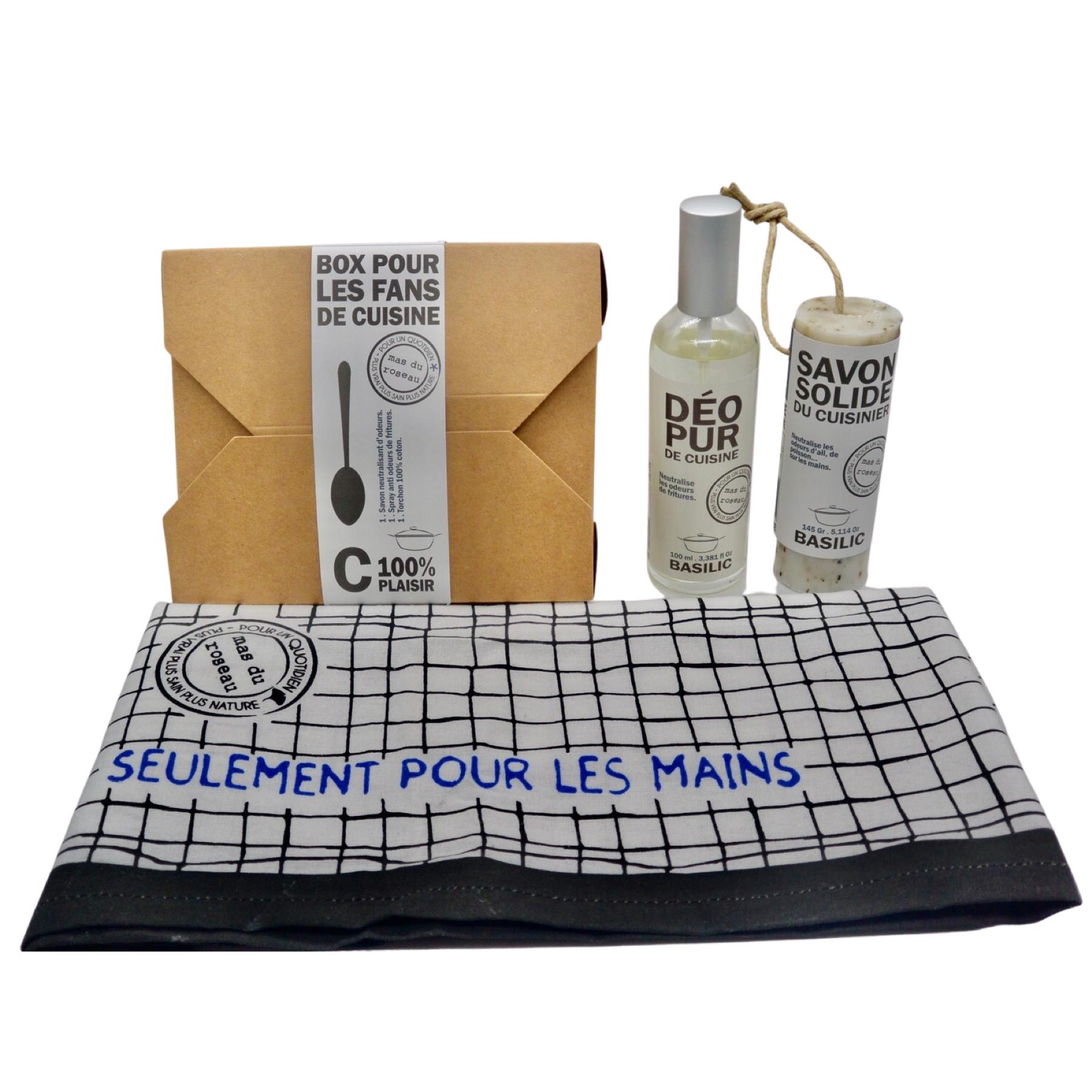 Box « Senteur et savon basilic » pour les fans de cuisine
