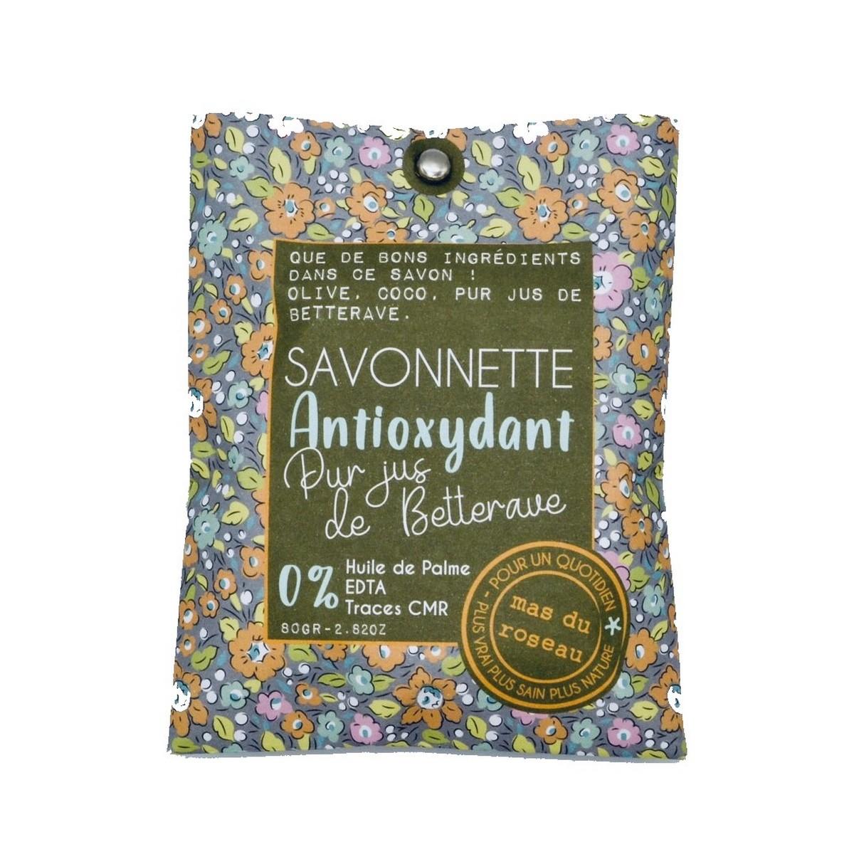 Savonnette eco-friendly Antioxydant au pur jus de betterave