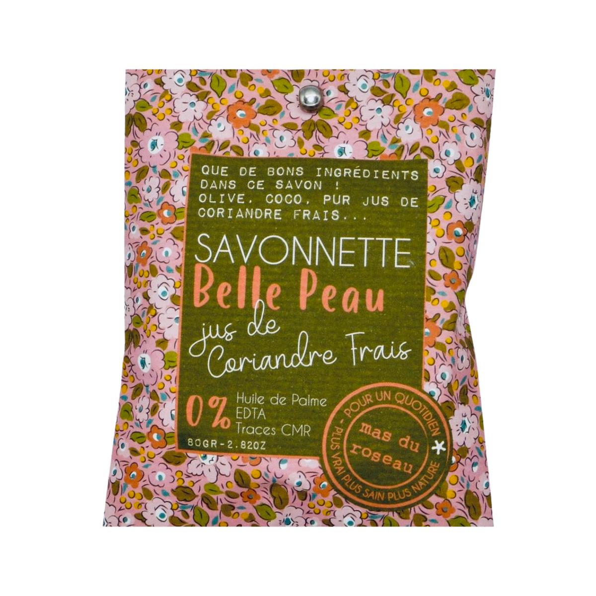 Savonnette eco-friendly Belle peau au coriandre frais