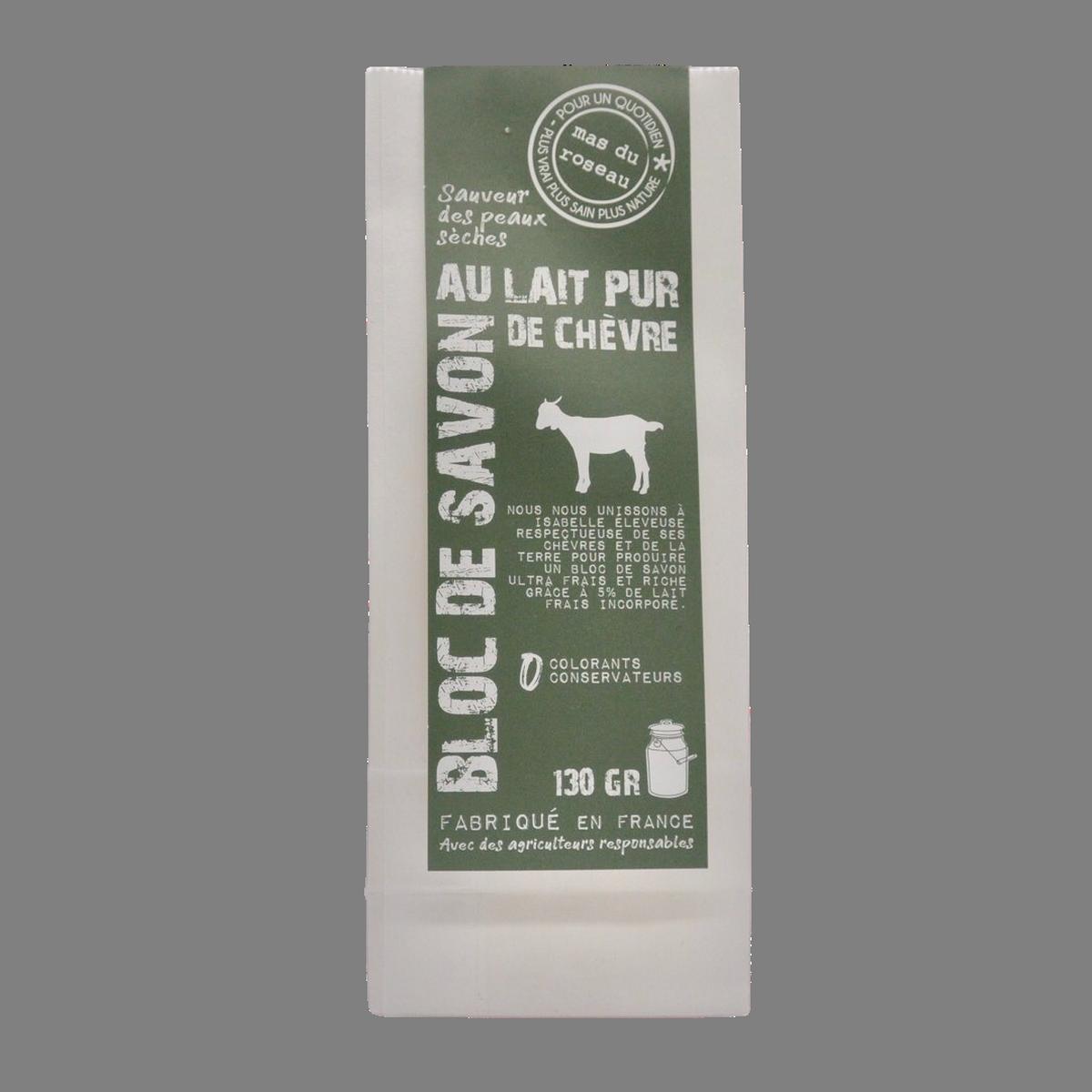 Savon au lait de chèvre pur