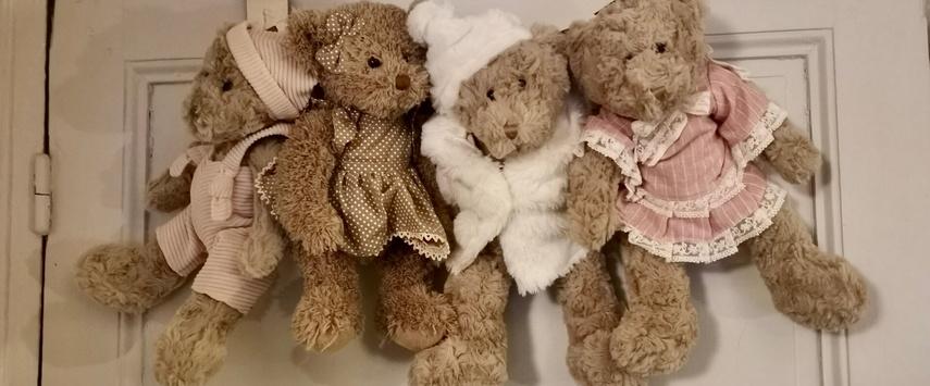 la galleria ours en peluche nounours  de collection une idee cadeau chez ugo et lea