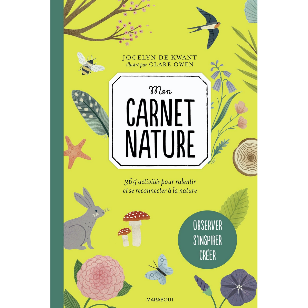Mon carnet nature / Mon carnet flow spécial nature