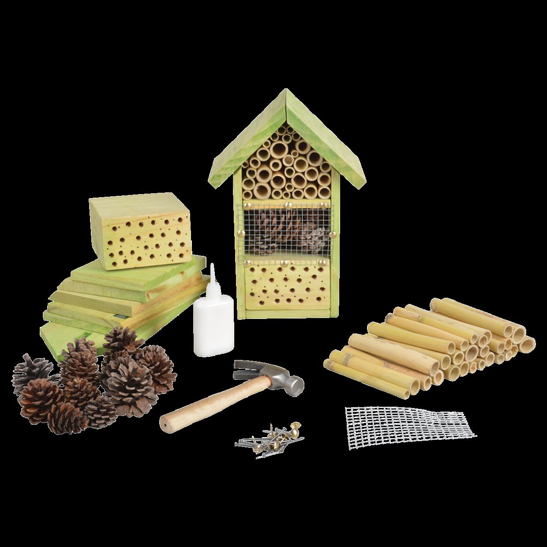 Hôtel à insecte à construire soi-même