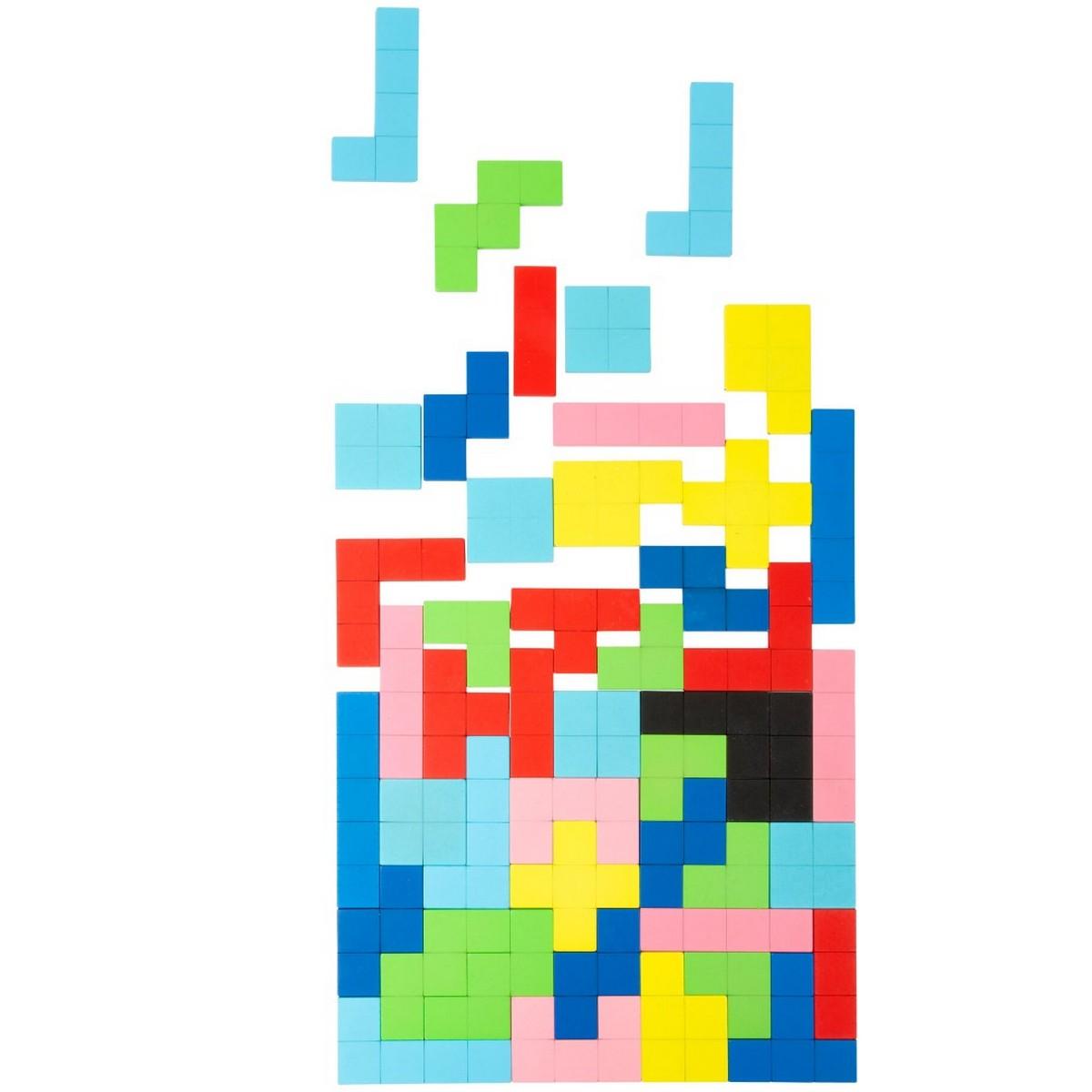 Tetris en bois