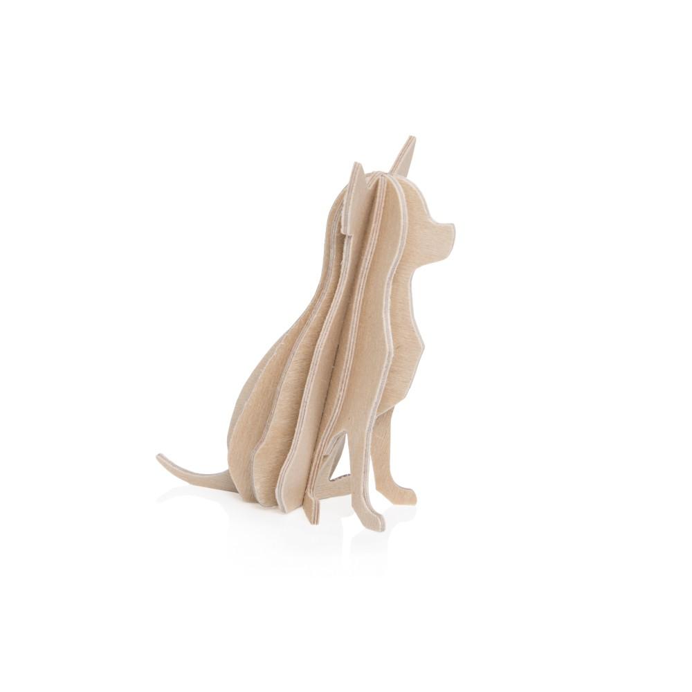 Le chihuahua de Lovi : carte pour construire un 3D en bois (S)