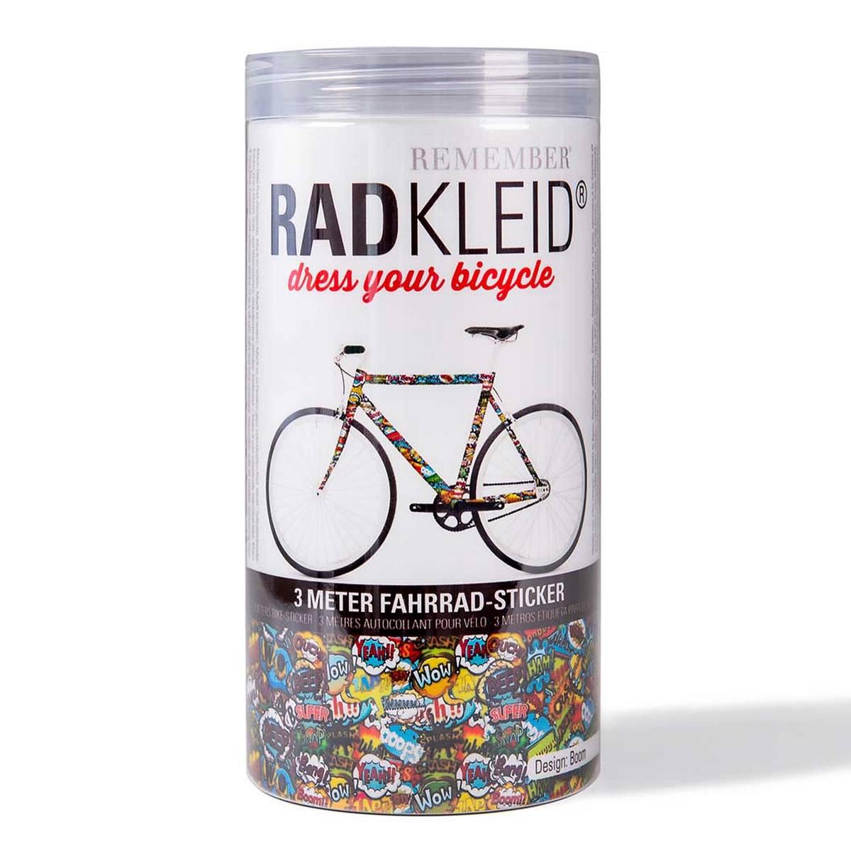 Sticker de cadre vélo Boom