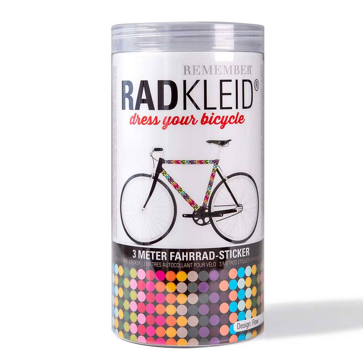 Sticker de cadre vélo Flow