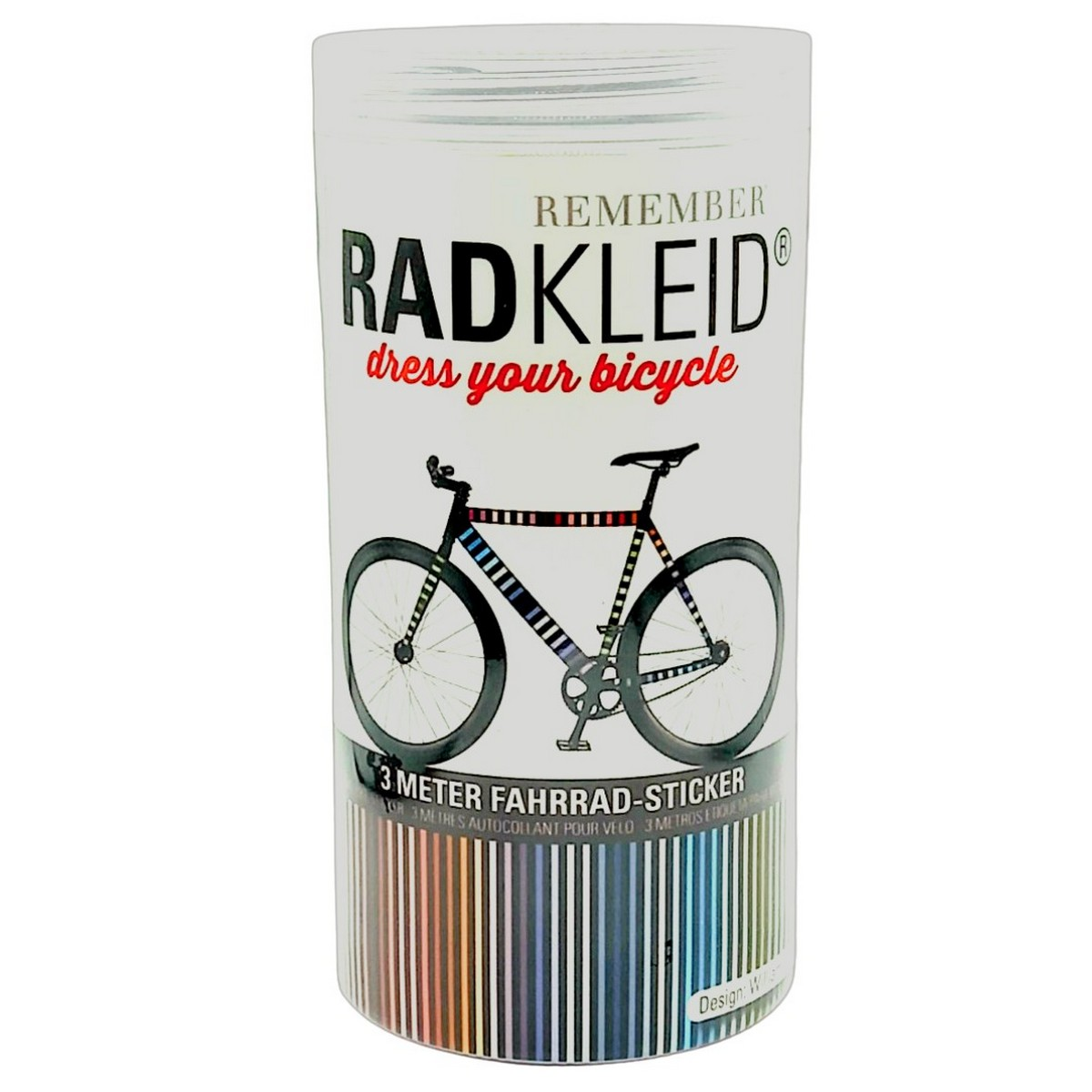 Sticker de cadre vélo William