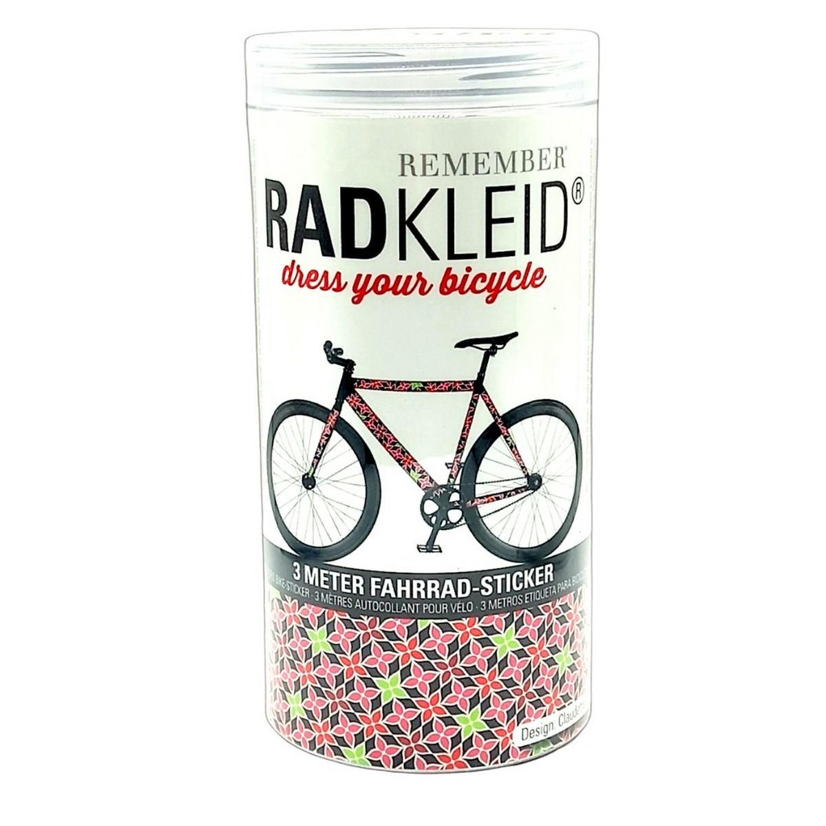 Sticker de cadre vélo Claudette