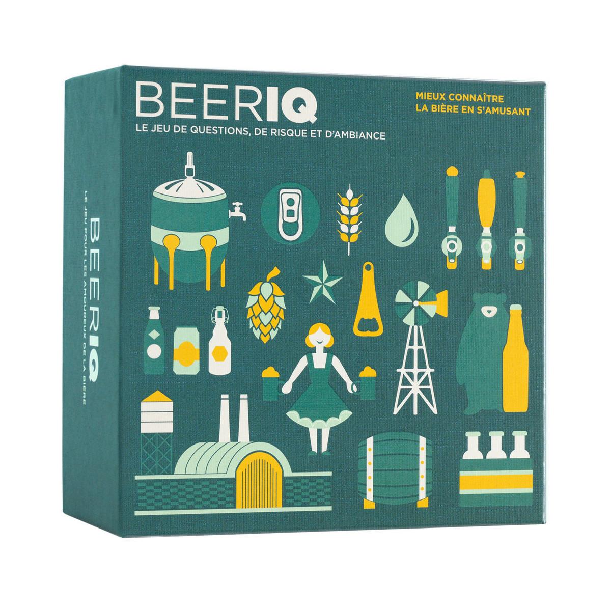 Jeu quiz BeerIQ pour fans de bière
