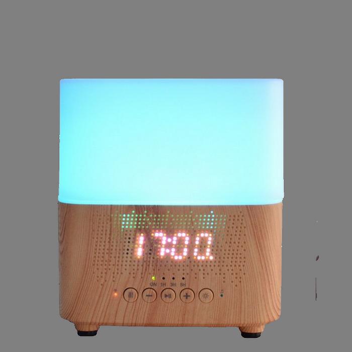 Diffuseur Tempo avec enceinte Bluetooth et horloge/réveil