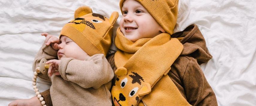 bonnet echarpe coton bio une idee cadeau chez ugo et lea