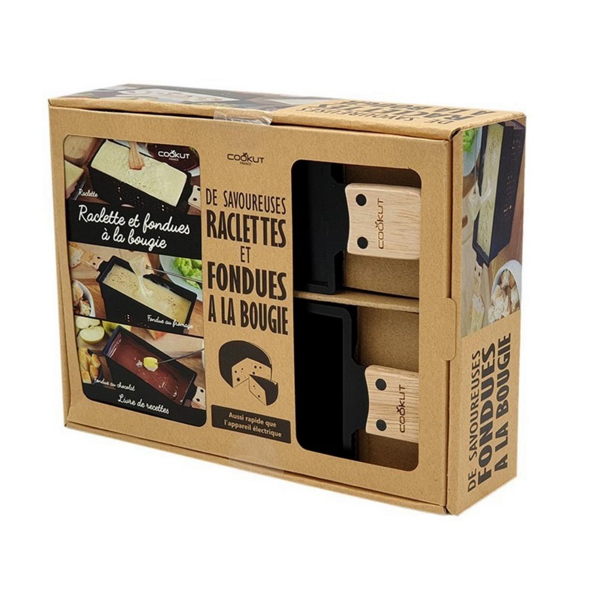 Raclette et fondue à la bougie : le coffret cadeau Lumi