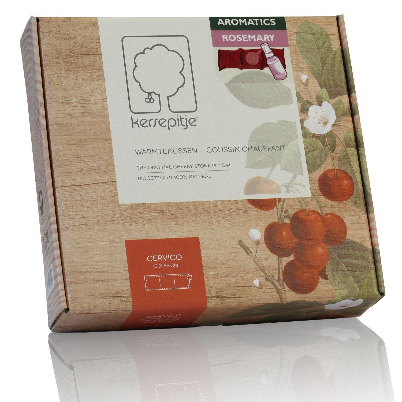 Cherry Cervico aromatisé à l'ylang ylang : l'oreiller-coussin chauffant en noyaux de cerises
