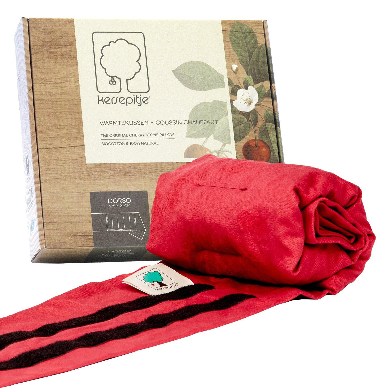 Cherry Dorso: l'oreiller-coussin chauffant en noyaux de cerises
