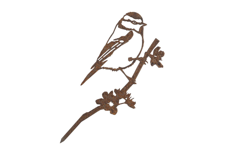 Oiseaux en métal Metalbird : la mésange bleue