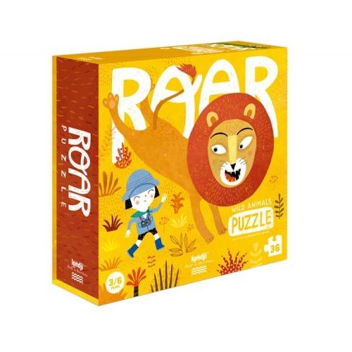Puzzle 3/6 ans  Roar le lion