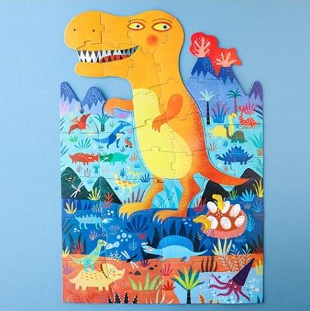 Puzzle 3/6 ans Jurassique puzzle / My t-rex puzzle - éveil & jeux/Puzzles 3/9 ans - CHEZ UGO & LÉA