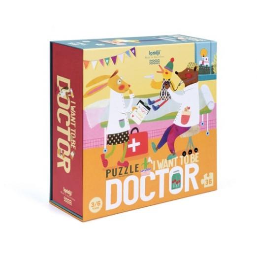 Puzzle 3/6 ans  Je veux être… docteur / I want to be... doctor