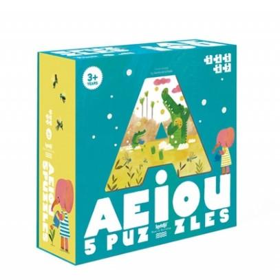 Puzzle 3/6 ans AEIOU